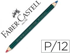 Lapis Faber-Castell Bicolor Azul/Vermelho (Un)