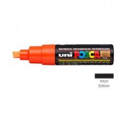 Marcador POSCA PC8K (8mm) Laranja Fluorescente (Un)