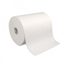 Bobine Papel Industrial Folha Dupla 24cm LargX29cm Diam(2Un)