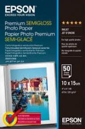 Epson S041765 Papel Foto Premium SemiGloss 10x15CM 251gr 50 Fls