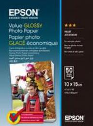 Epson S400038 Papel Foto Glossy 10x15CM 183gr 50 Fls
