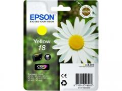 Epson 13T18044010 (T1804) Tinteiro Amarelo XP30/XP102/XP202.