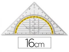 Esquadro Geométrico Plástico 16Cm (Un)