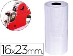 Etiqueta Rotuladora Branca 16x23mm Rolo 700 Etiquetas