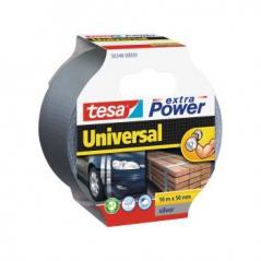 Fita Adesiva Tecido Tesa Extra Power Univ. 50mmx10m Cinza (Un)
