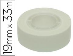 Fita Adesiva APLI 19mmx33mts Branco (Un)