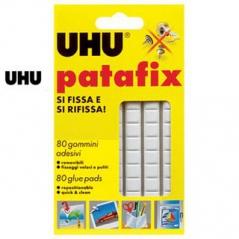 UHU Fixador Patafix Branco 80 Pastilhas (Un)
