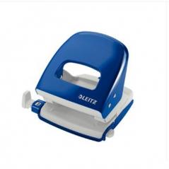 Furador Leitz 5008 25 Folhas (c/Guia) Azul (Un)