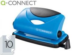 Furador Q-Connect 10Fls Azul (Un)