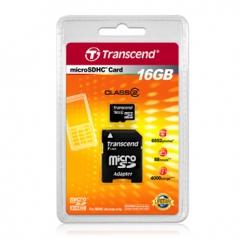 Cartao Memoria Transcend Micro 16GB (SD 2.0)