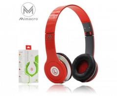 Auscultadores (Phones) MI-603 2Mt 50mW Vermelho (Un)