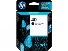 HP 51640A (Nº40BK) Tinteiro Preto Deskjet 1200/Designjet 200