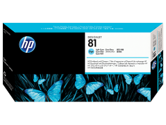 HP 81(C4954A) Cabeca+limpeza Azul Claro Designjet 5000series
