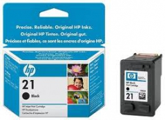 HP C9351A (Nº21) Tinteiro Preto ~190