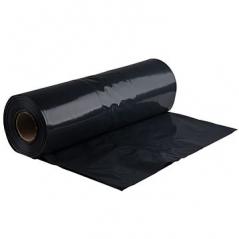Sacos Lixo Plastico 30Lts c/Fecho Preto 15my (55X60cm) (Pack 15Un)