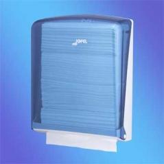 Dispensador Toalhas Mão Zig-Zag Azul (Un)