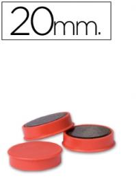 Magnetos (Imans) 20mm Vermelho Unid (Legamaster)