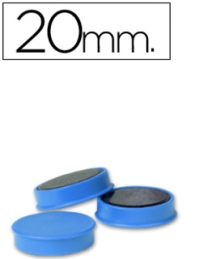 Magnetos (Imans) 20mm Azul Unid (Legamaster)