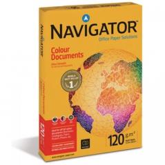 Papel A4 120gr Navigator Laser/Jacto Tinta 250fls *