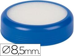Esponjeira c/ base borracha Azul Ø 8,5 cm (Un)