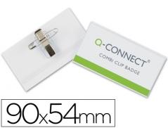 Porta Nomes Horizontal Q-Connect 54mmx90mm (Un)