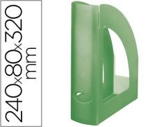 Porta Revistas Plastico Verde Kiwi (Un)
