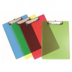Clip Board Plastico EAGLE Cores Sortidas Transparente(Un)