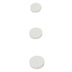 Magnetos (Imans) 30mm Branco Pack (10Un)
