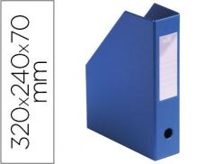 Porta Revistas PVC Ultra Resistente Azul (Un)