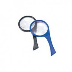 Lupa Redonda EAGLE Plastico Azul (Un)