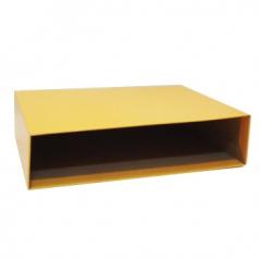 Caixa p/ Pasta Ancor Classic Stripes L80 Amarelo (Un)#