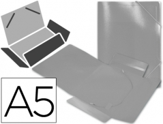 Pasta c/ Elasticos A5 Transparente (Un) #109