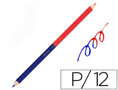 Lapis Bicolor (Vermelho/Azul) (Un)