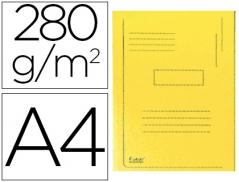 Pasta Classificadora C/ 2 Abas Amarelo (Un)