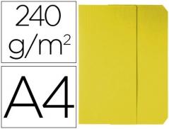 Pasta Classificadora Cartolina(240mmx320mm)240gr Amarelo(Un)