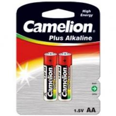 Pilhas Alcalinas LR6 1,5V AA Camelion (2Un)