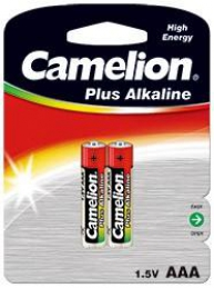 Pilhas Alcalinas LR03 1,5V AAA Camelion (2Un)