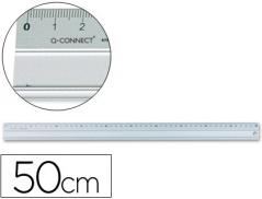 Regua Metalica 50cm (Un)