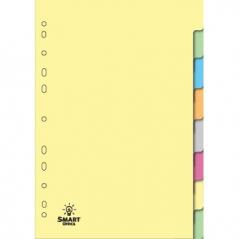 Separadores A4 8 Posicoes Cartolina (Un)