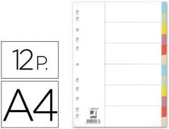 Separadores A4 12 Posicoes Cartolina (Un)