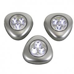 Lampada LED c/ Suporte Adesivo (Pack3)