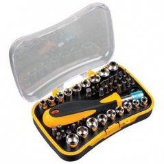 Kit Ferramentas de chaves de bocas e bits c/ 48 peças PEREL (Un)