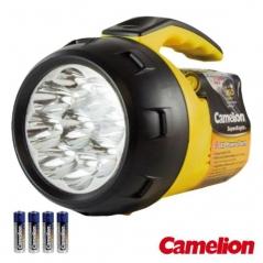 Lanterna 9 LEDS Potentes c / 4 Pilhas Camelion (UN)