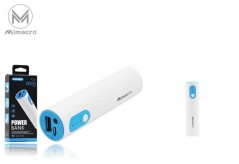 Powerbank Modelo PL0068 2600mAh - Azul (Un)