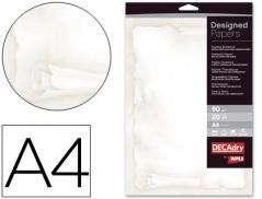 Papel Pergaminho A4 90Gr (20Fls)