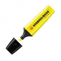 Marcador Fluorescente Amarelo Stabillo Boss (Un)