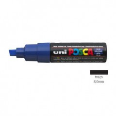 Marcador POSCA PC8K (8mm) Azul (Un)