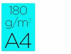 Cartolina A4 Azul 180grs (125Un)