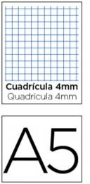 Bloco Apontamentos A5 Quadriculado 100Fls (Un)