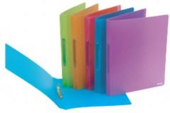 Dossier Plastico A4 (c/2 Argolas) L25 Cores Sortidas (Un)